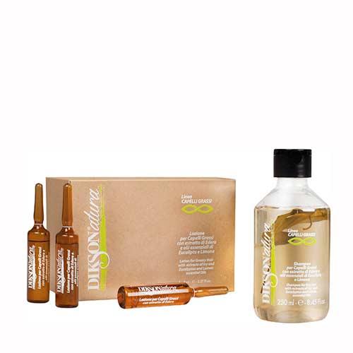 درمان مو های چرب DIKSONATURA - DIKSON