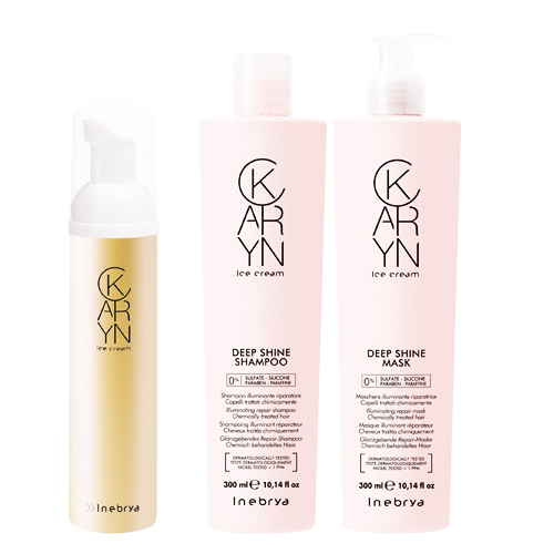 KARYN: LIGHTING AND CONDITIONING LOTIONS - INEBRYA
